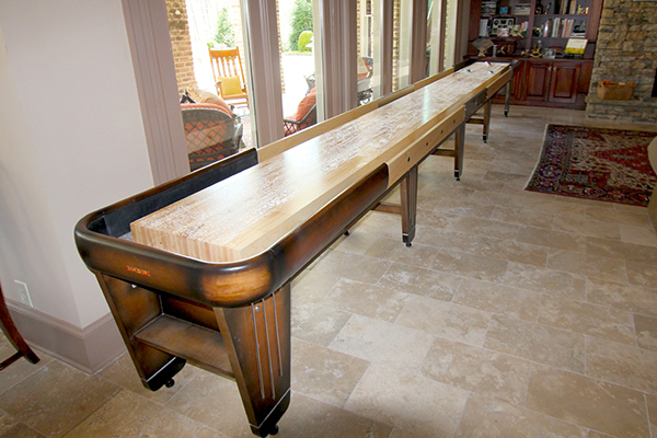 Customers Love Their Shuffleboard Table