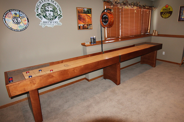Shuffleboard Table Review by Mario