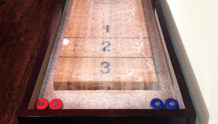 Shuffleboard Table - Competitor II review by Craig