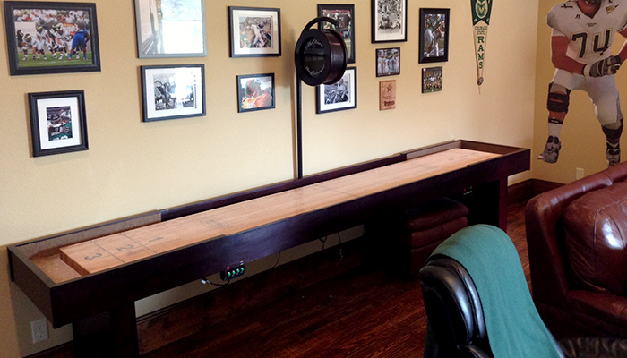 Beau ... Shuffleboard Table   Competitor II Review By Craig 2