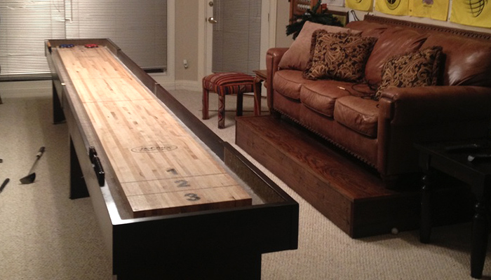 Shuffleboard Table Competitor II Review by Joe