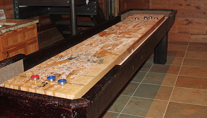 Exceptionnel Shuffleboard Table   Dakota Side View Shuffleboard Table   Dakota