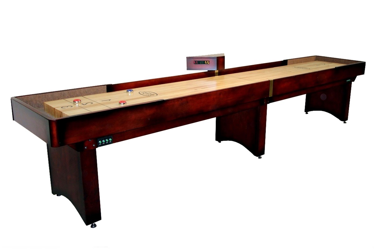 16 Foot Tournament Shuffleboard Table McClure Tables