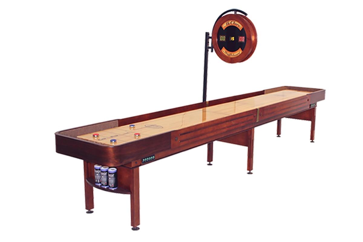 16 Foot Prestige Shuffleboard Table McClure Tables