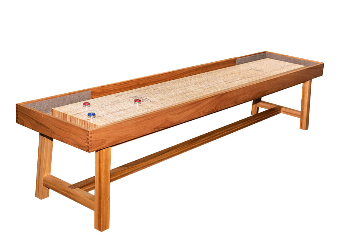 9 Foot Oxford Shuffleboard Table McClure Tables