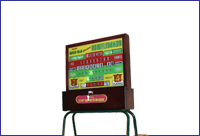 Rock-Ola Table Shuffle Wood Electronic Score unit