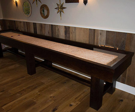 The Ponderosa Shuffleboard Table