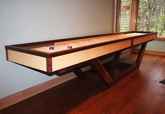 Designer Series Custon Designer Shuffleboard Tables