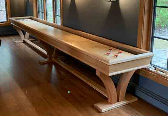 Shuffleboard Game Rules McClure Tables - Standard shuffleboard table