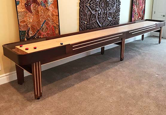 Handcrafted Shuffleboard Tables Mcclure Tables