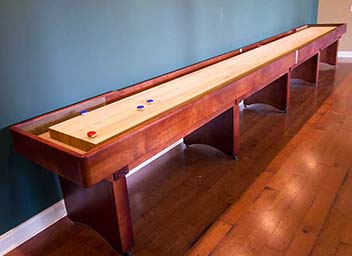 Tournament Shuffleboard Tables