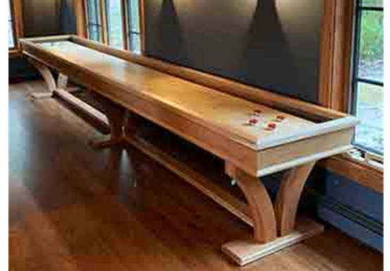 Veneto Cherry Shuffleboard Tables