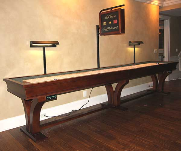 hand made Shuffleboard Tables