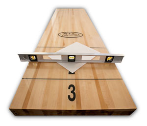 shuffleboard Maintenance Guide how to level shuffleboards