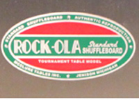 Rock-Ola side cover