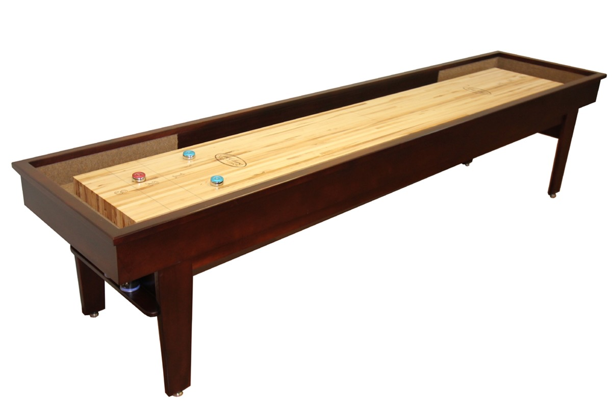 12 foot patriot shuffleboard table mcclure tables for 12 foot shuffle board table
