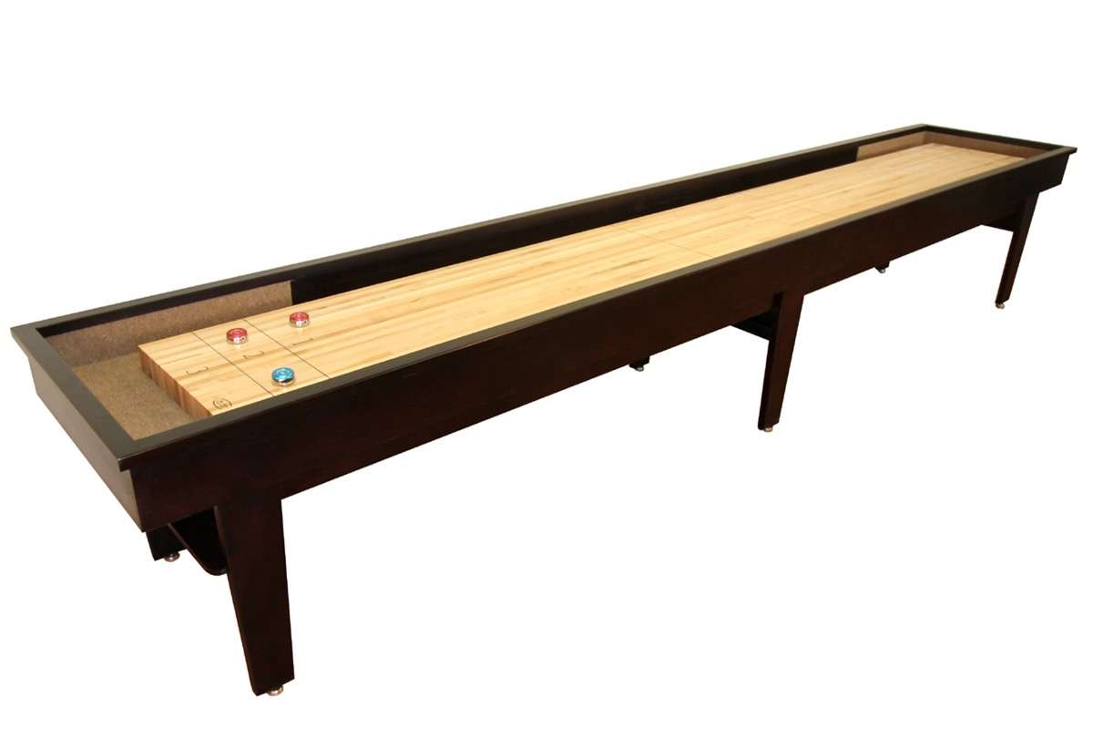 20 foot patriot shuffleboard table mcclure tables for 12 foot shuffleboard table dimensions
