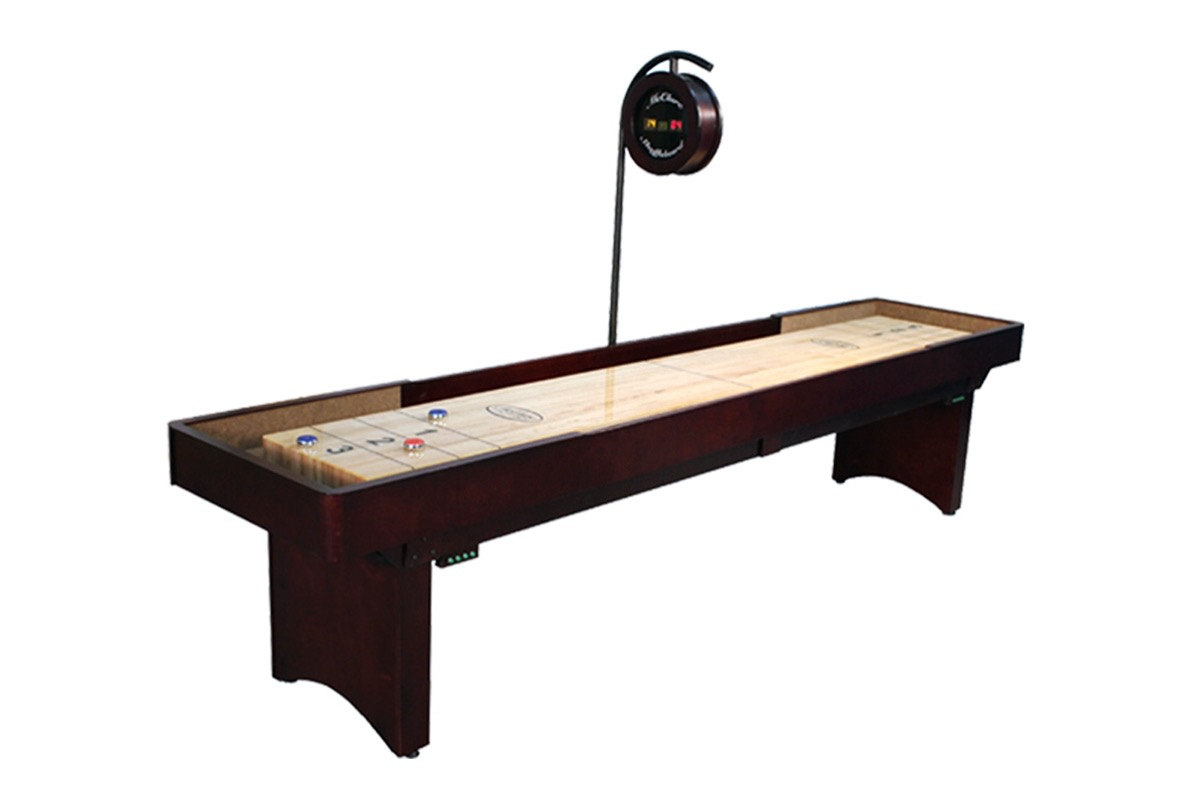 9 foot tournament shuffleboard table mcclure tables for 12 foot shuffle board table
