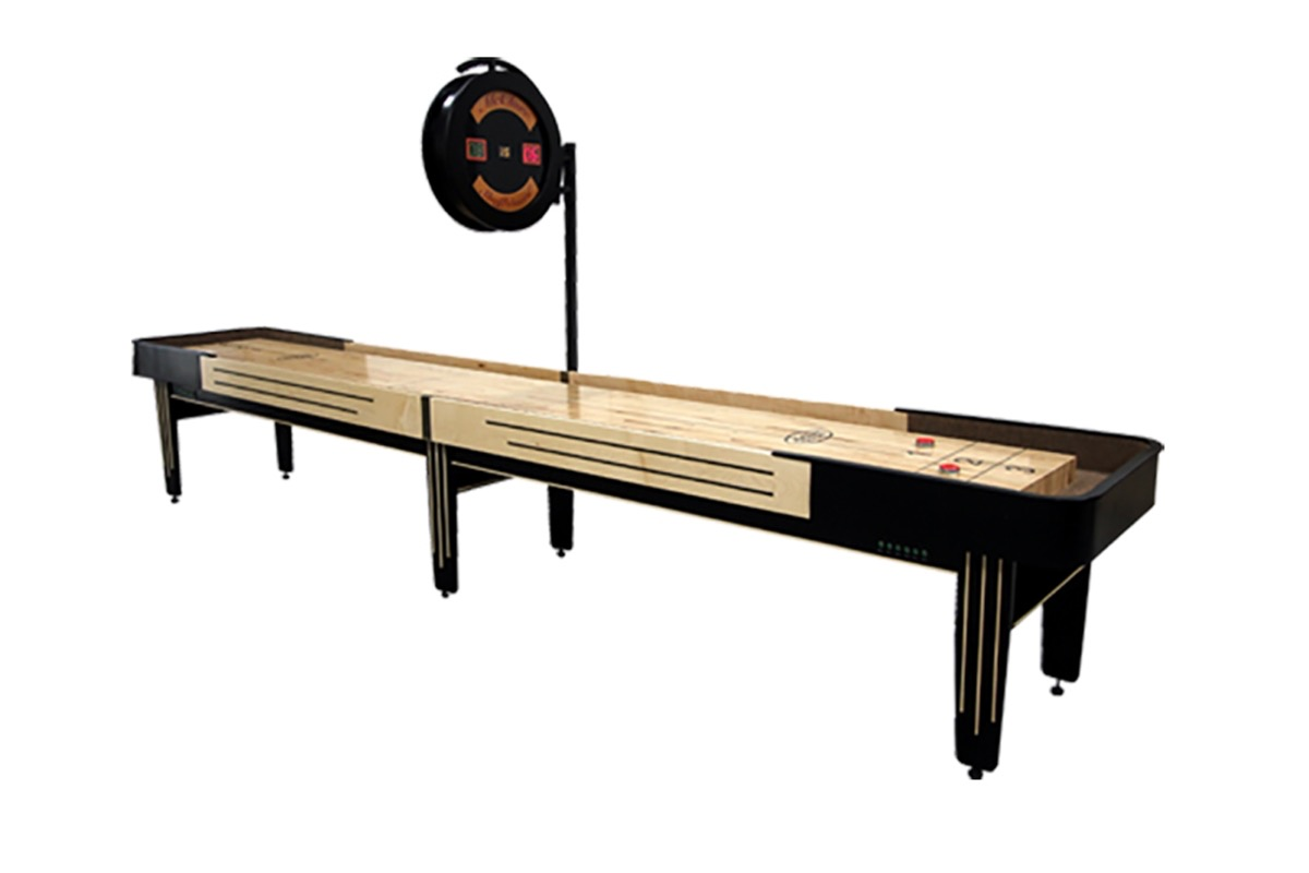 18 Foot Tournament II Deluxe Shuffleboard Table
