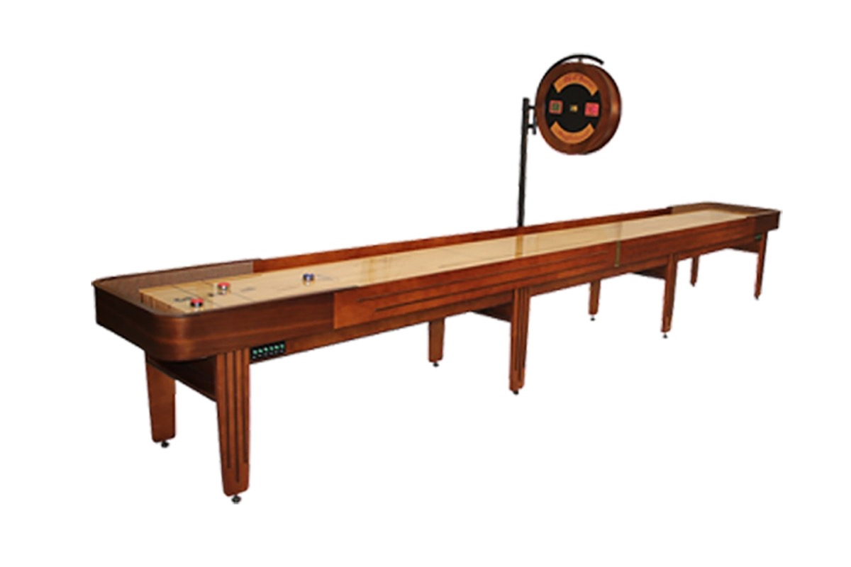 20 Foot Tournament II Deluxe Shuffleboard Table
