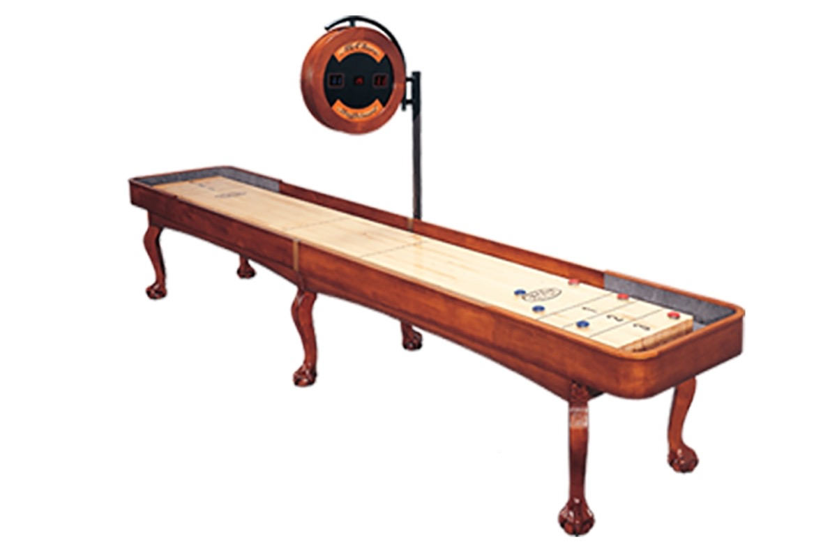 12 foot edmore shuffleboard table mcclure tables