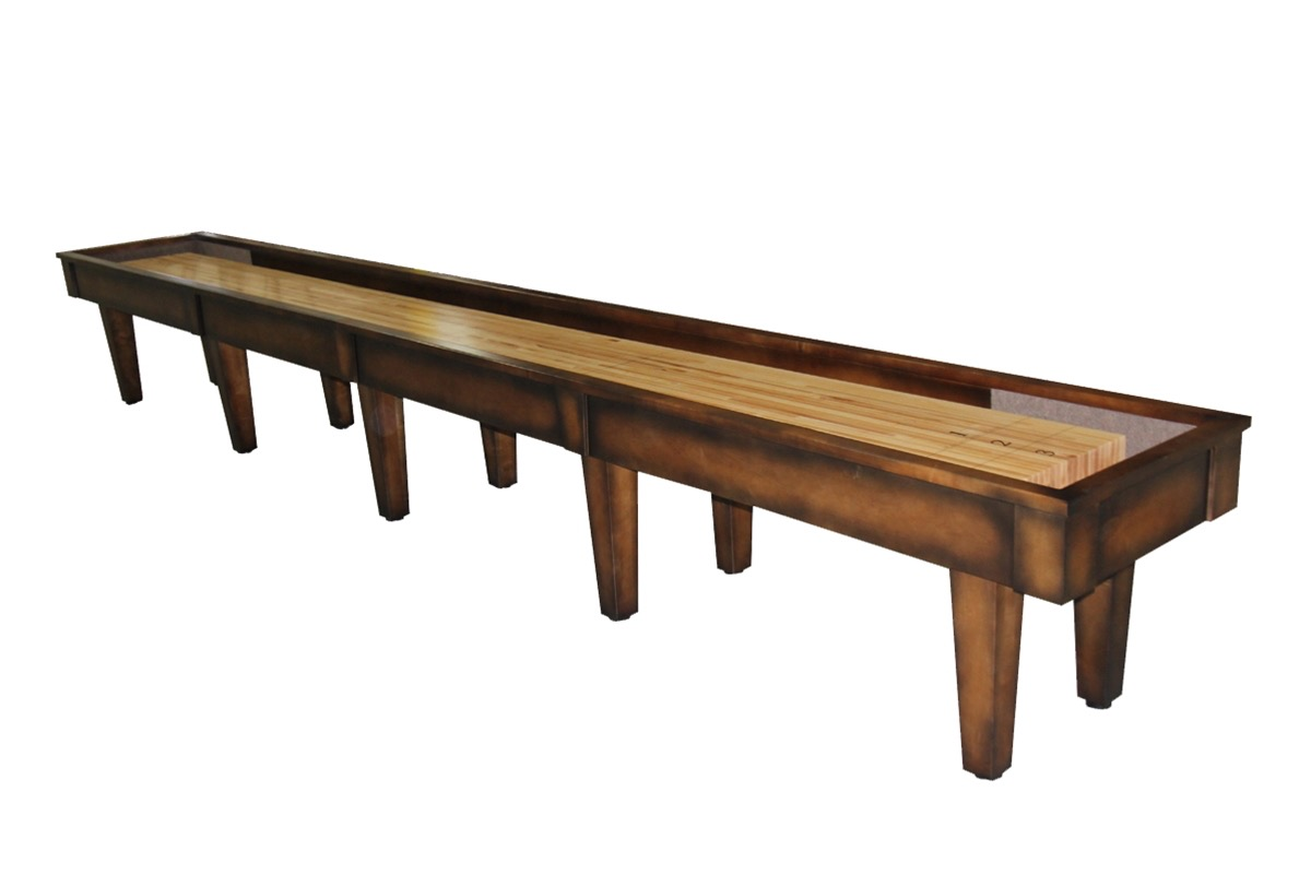 22 Foot Sloan Maple Shuffleboard Table