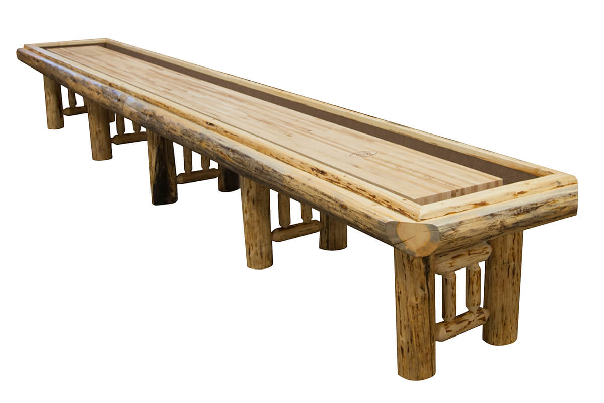 Foot Montana Shuffleboard Table McClure Tables - Standard shuffleboard table