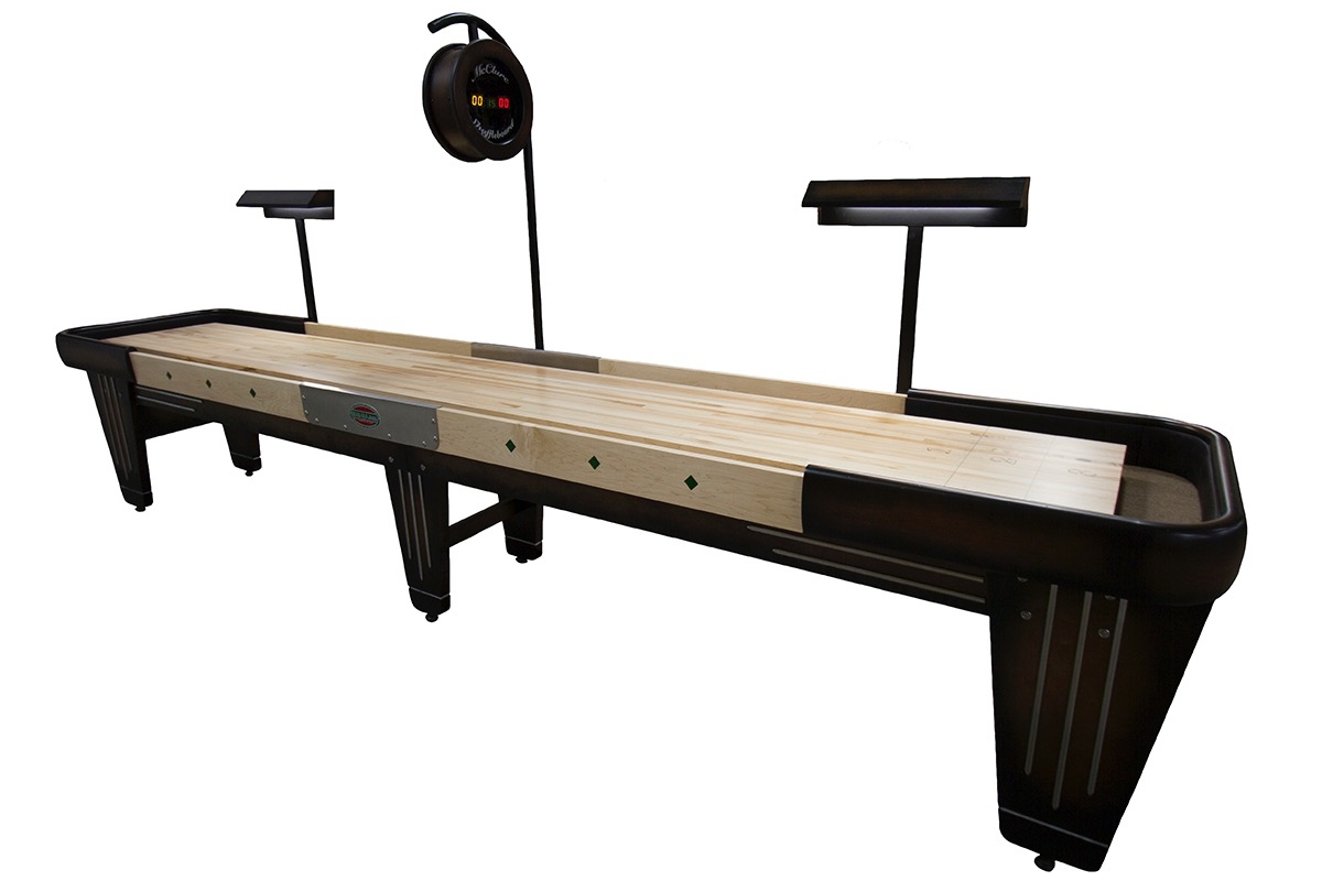 14 Foot Rock-Ola Shuffleboard Table