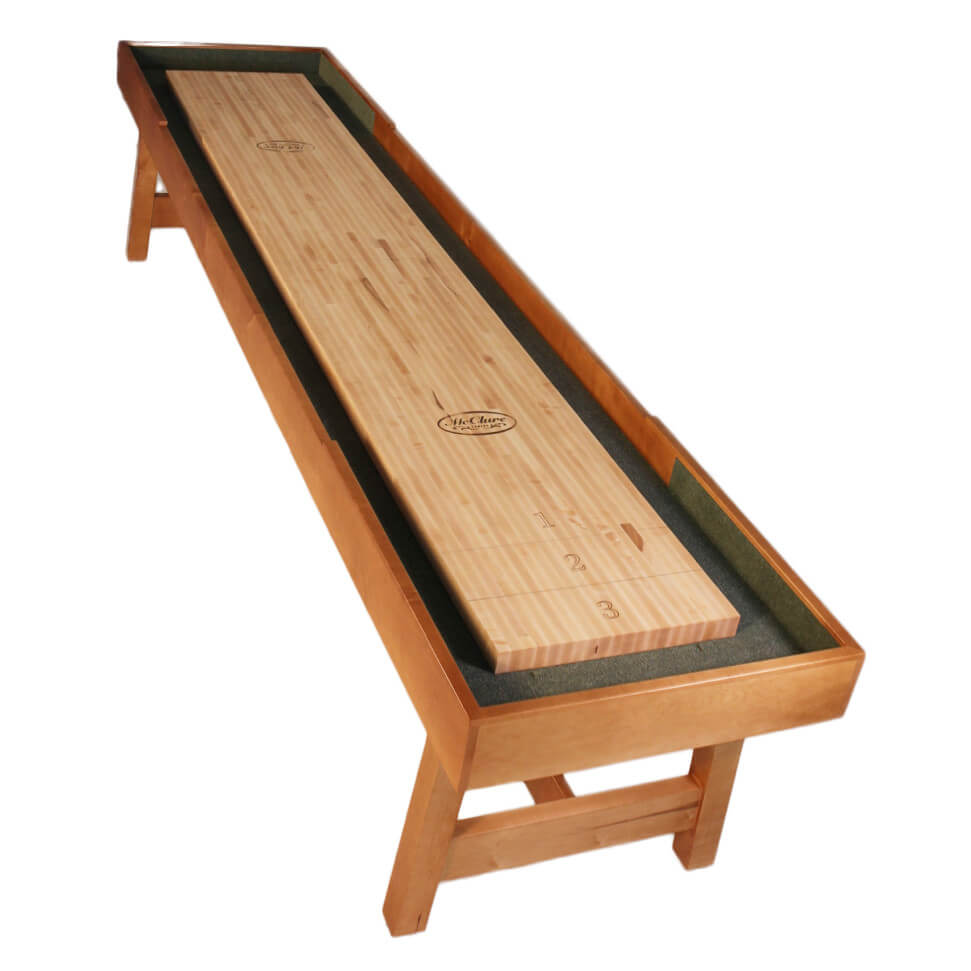 12 foot contempo shuffleboard table mcclure tables for 12 foot shuffle board table