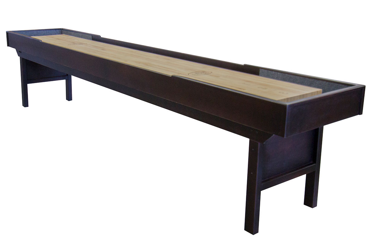 12 foot liberty shuffleboard table mcclure tables for 12 foot shuffle board table