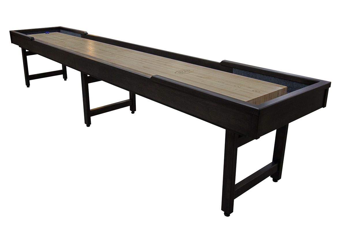 12 foot michigander shuffleboard table mcclure tables for 12 foot shuffle board table