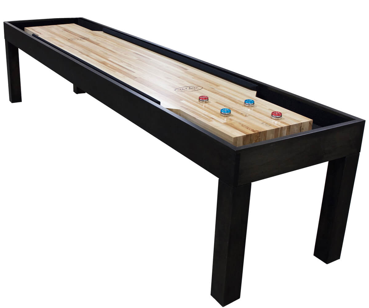 Attirant 12 Foot Parson Bumper Shuffleboard Table