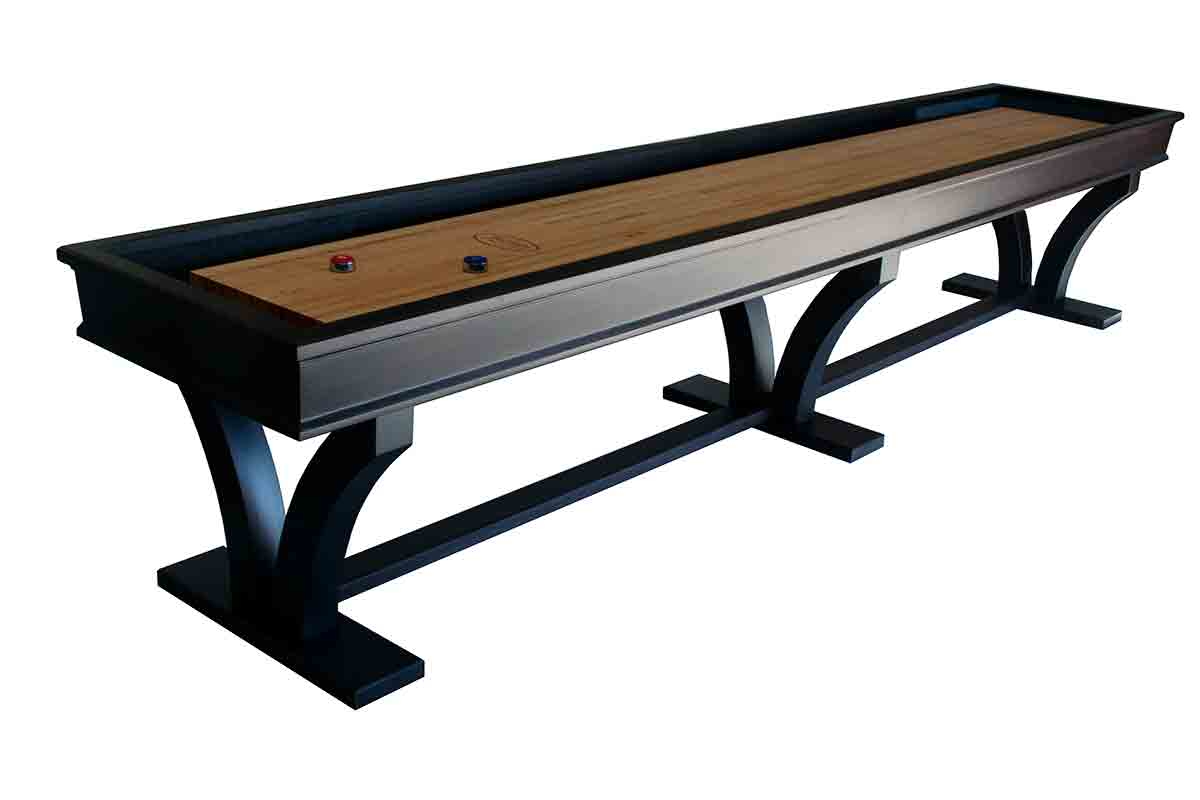 16 Foot Veneto Maple Shuffleboard Table