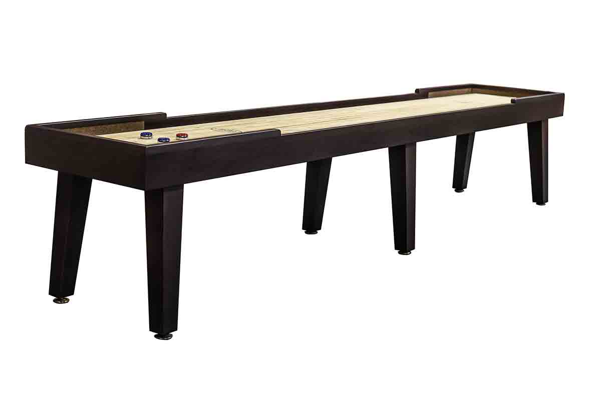 16 foot Ludington Tulipwood shuffleboard table