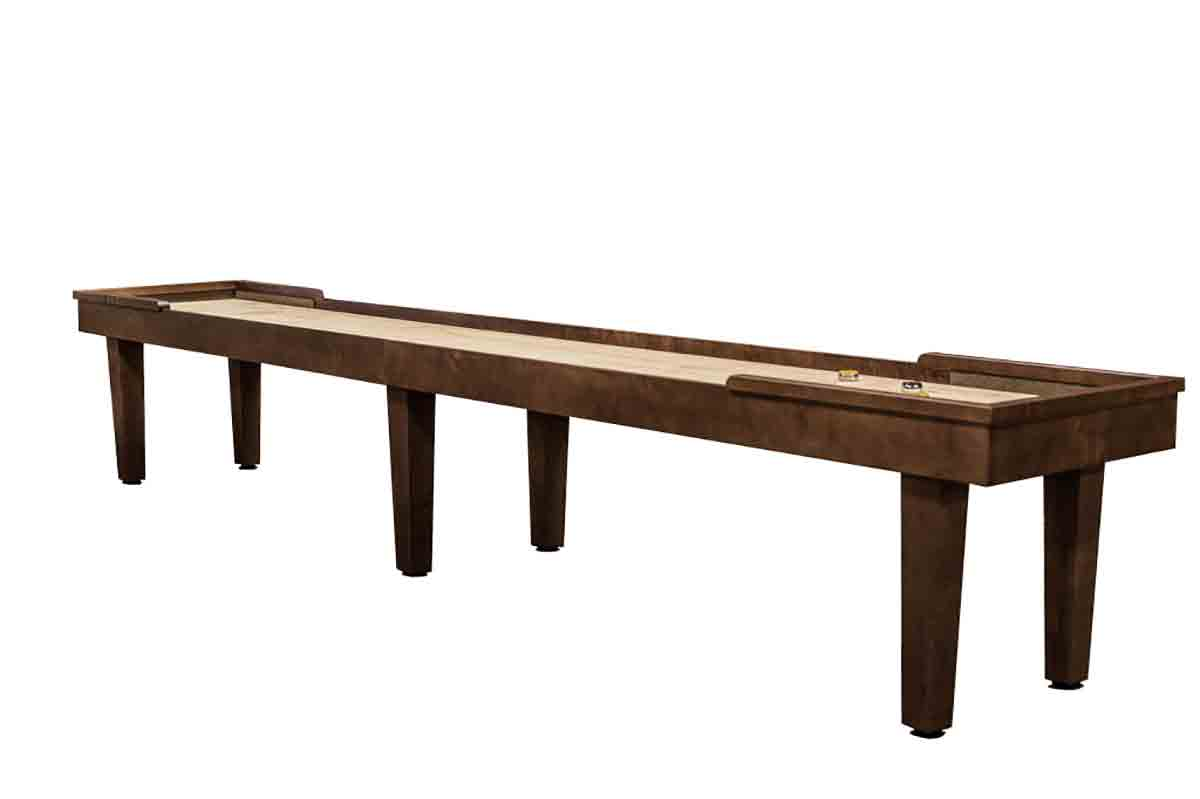 20 foot Hamilton Maple shuffleboard table
