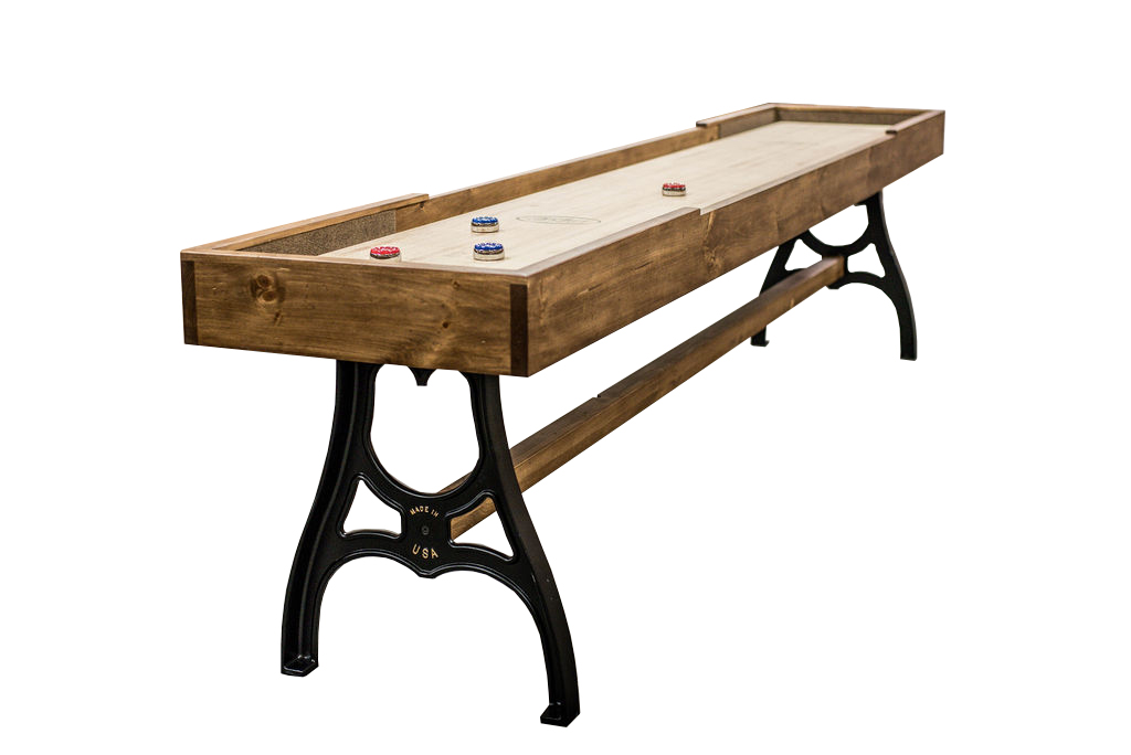 12 foot Burton shuffleboard table