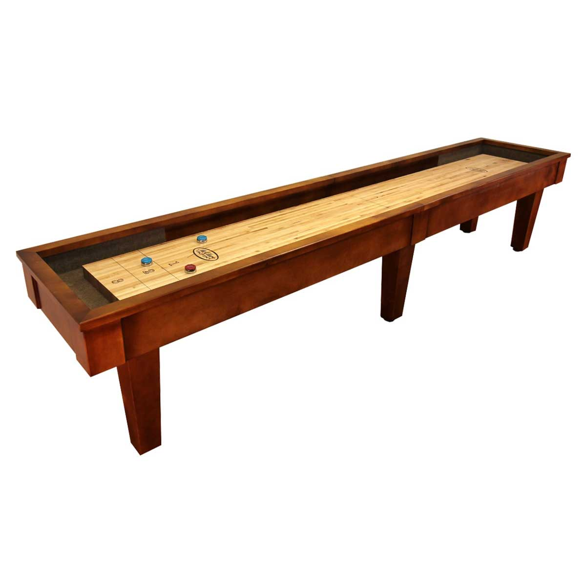12 Foot Sloan Maple Shuffleboard Table