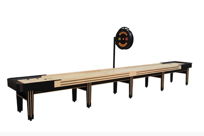 22 Foot Tournament II Deluxe Shuffleboard Table