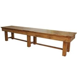Shuffleboard Pine Dinning Top