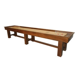 14 Foot Ponderosa Oak Shuffleboard Table