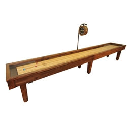 18 Foot Sloan Walnut Shuffleboard Table