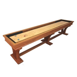 12 Foot Veneto Cherry Shuffleboard Table