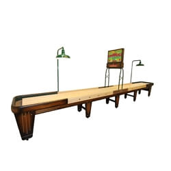 22 Foot Rock-Ola Shuffleboard Table