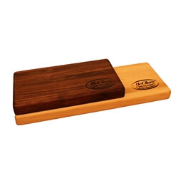 Hickory Bar Board Block Cutting Board