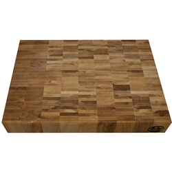 "Reclaimed Maple Chopping Block 2"" thick"