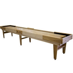12 Foot Hickory Texan Shuffleboard Table