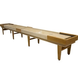 22 Foot Texan Cherry Shuffleboard Table