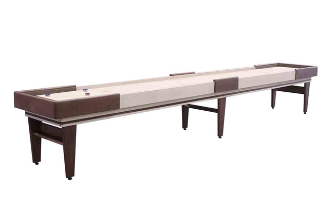 18 Foot Texan Walnut Shuffleboard Table
