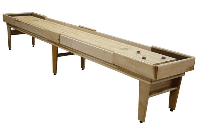 16 Foot Hickory Texan Shuffleboard Table