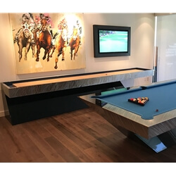 Modern Malibu Shuffleboard Table